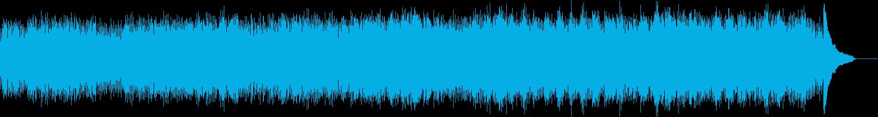 バッハの有名曲をチェンバロでの再生済みの波形