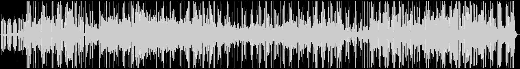 ファンキーBGM ブルースハープを添えての未再生の波形