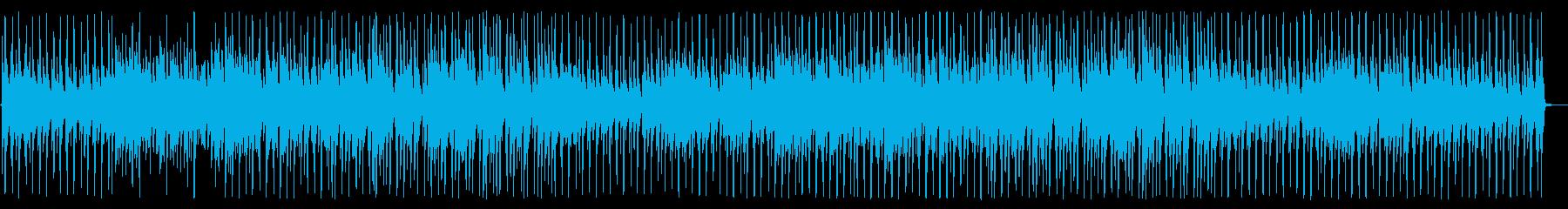 かわいい楽しいキッズ向けCM、ウクレレの再生済みの波形