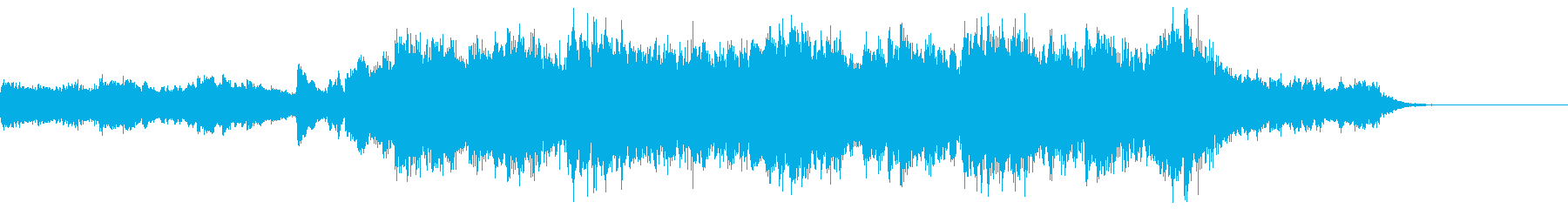 30秒で伝わるかっこいい映像にピッタリの再生済みの波形