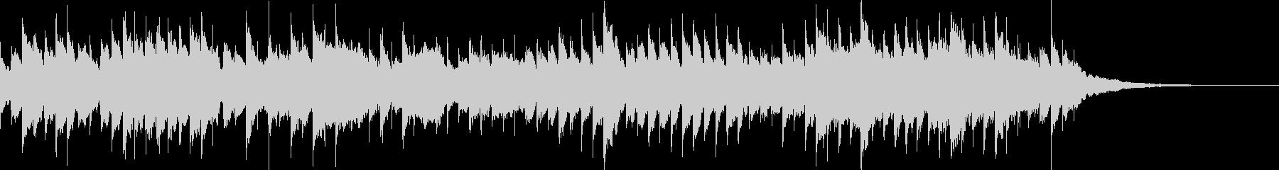 せつない雰囲気のオルゴールの未再生の波形