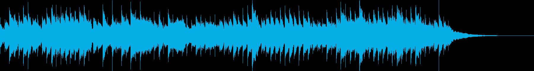 せつない雰囲気のオルゴールの再生済みの波形