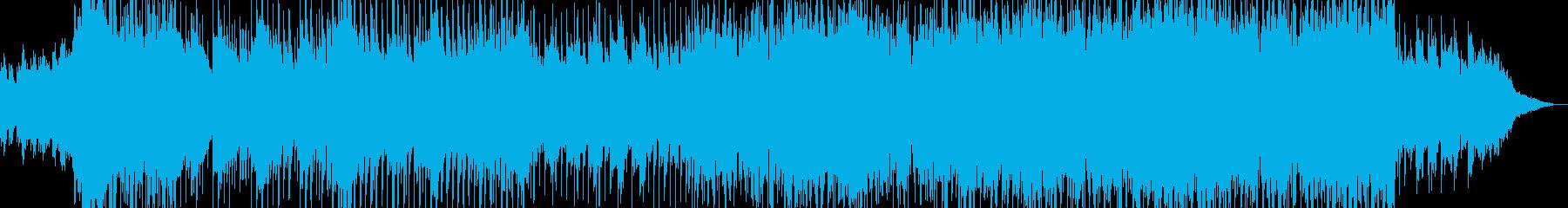 和風オーケストラ企業VPオープニングの再生済みの波形