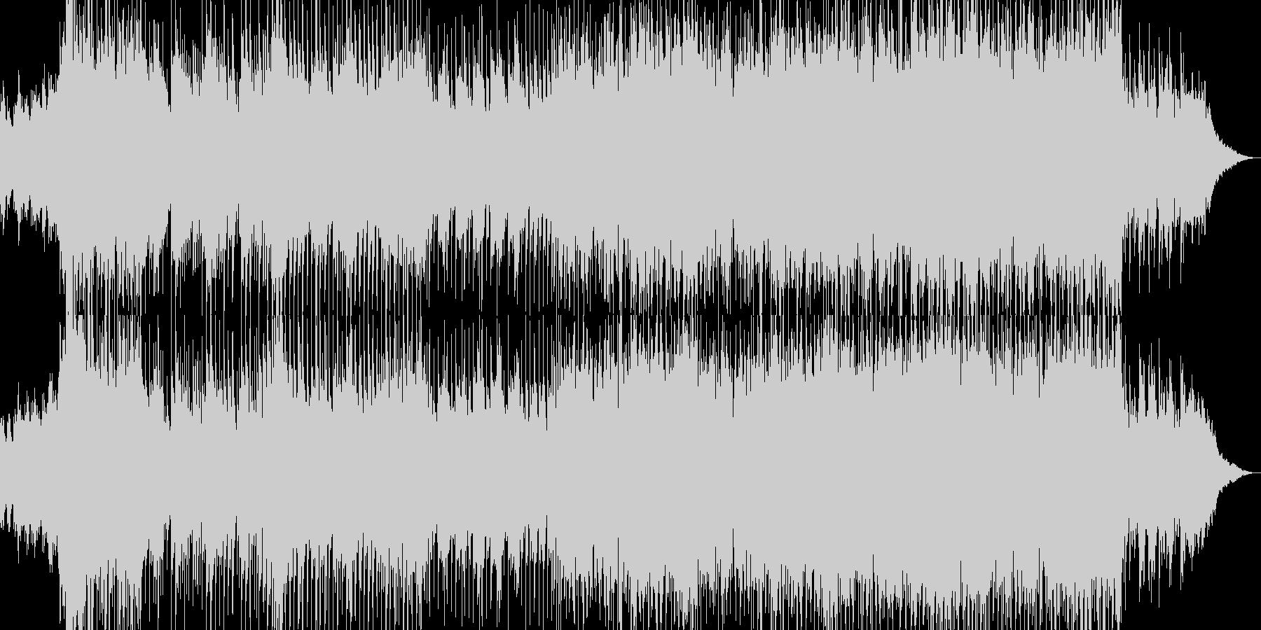 和風オーケストラ企業VPオープニングの未再生の波形