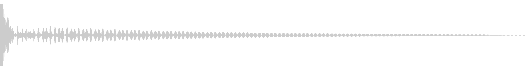 DTM Tom 3 オリジナル音源の未再生の波形