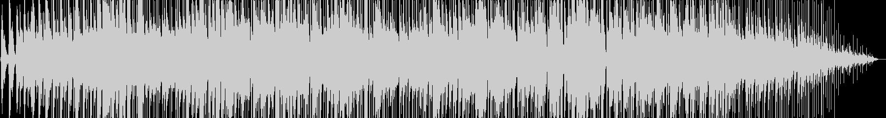パーカッションとギターマンドリンのボサの未再生の波形