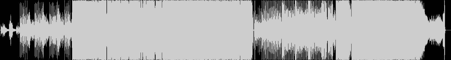 プールサイドガールの未再生の波形