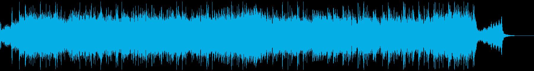 【30秒】情熱大陸の様なバイオリンBGMの再生済みの波形