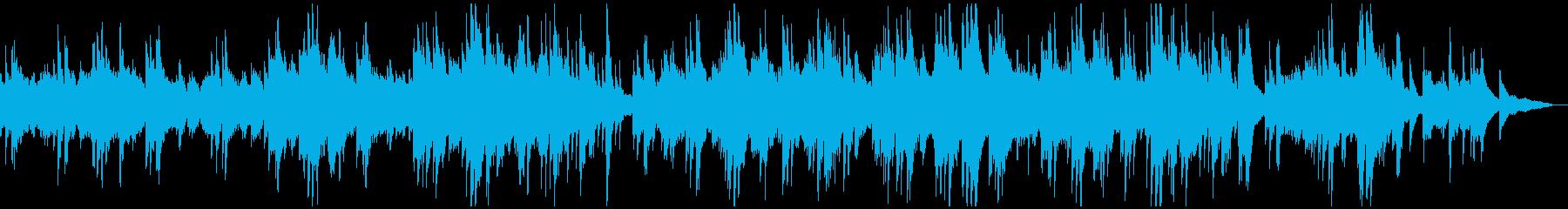 優しいニュース・天気予報 ピアノソロの再生済みの波形