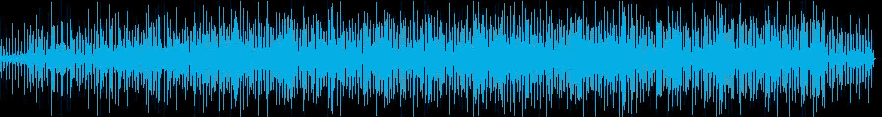 ストリングスと木管のほのぼのとしたBGMの再生済みの波形