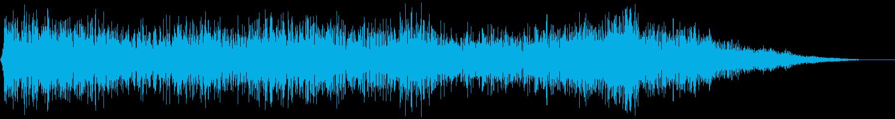 【ダークアンビエント】煙の中の再生済みの波形