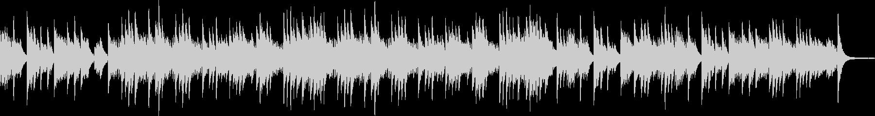 ソロピアノ、爽やか、風をイメージの未再生の波形