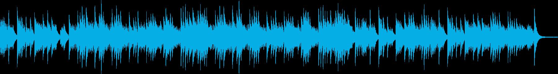 ソロピアノ、爽やか、風をイメージの再生済みの波形