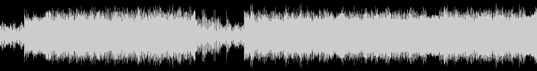 サイケデリック、SFシューティングBGMの未再生の波形