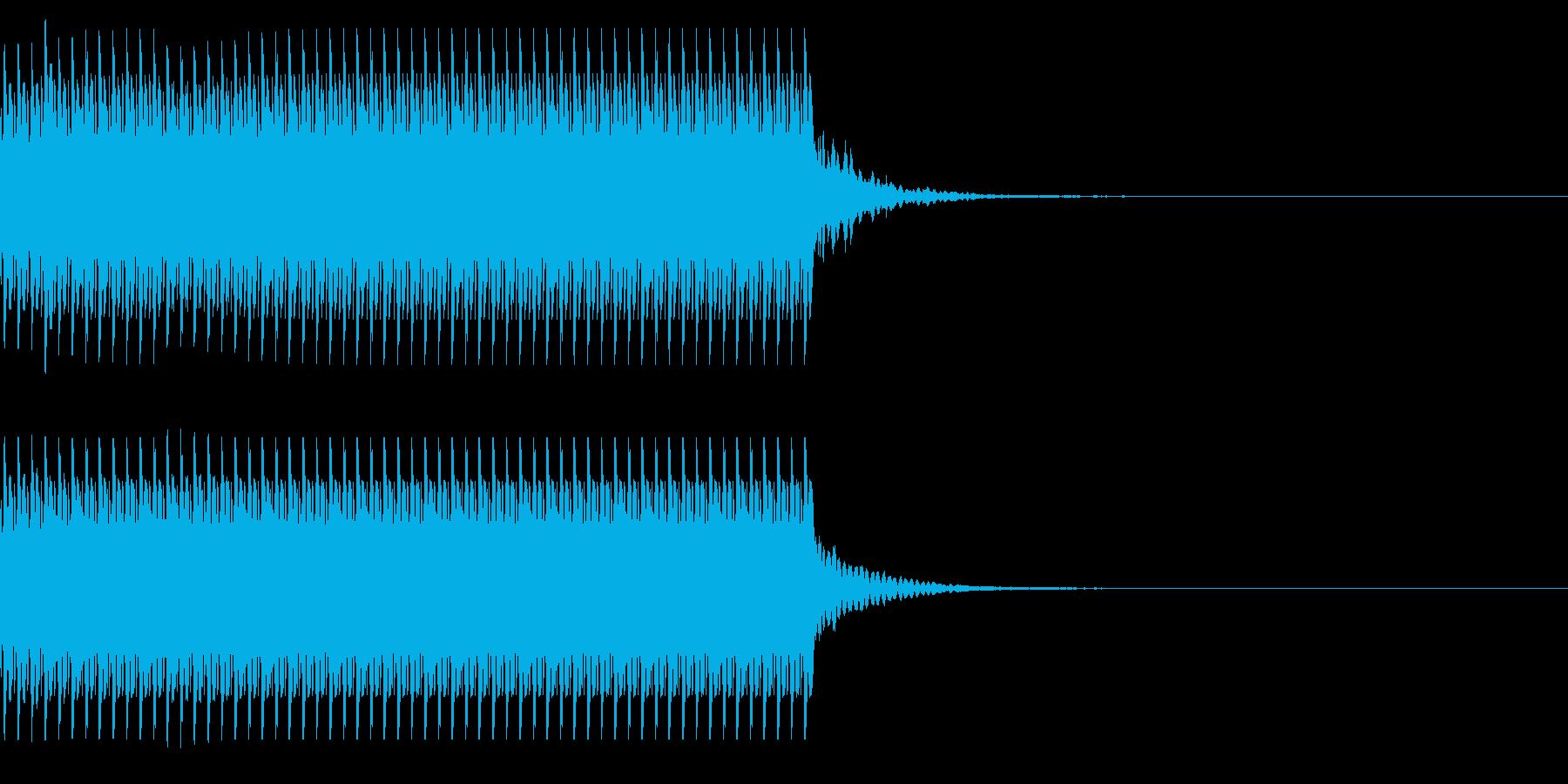 コイン60枚獲得 計算 チャリンの再生済みの波形