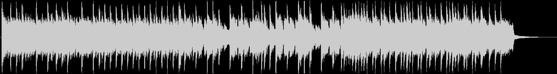 スローテンポから一転のアップテンポロックの未再生の波形