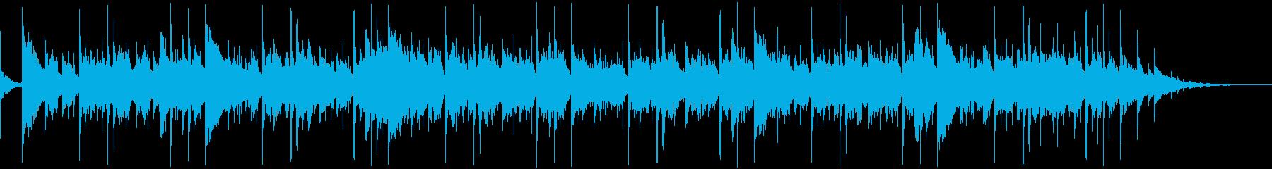 微妙な電子パルス。情報の流れ、デー...の再生済みの波形