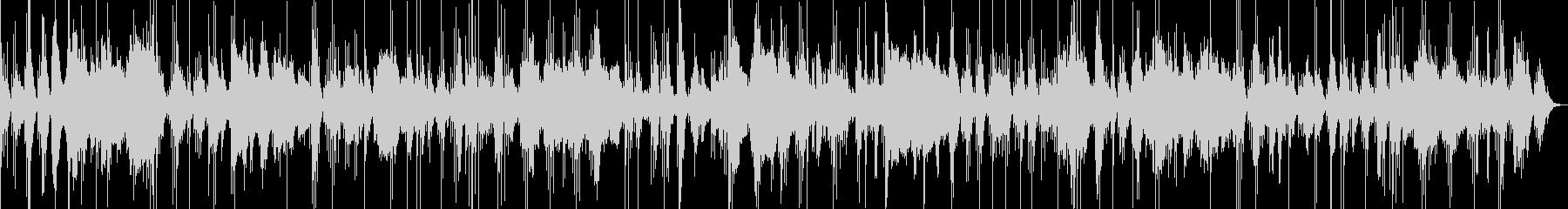 琴と尺八の合奏曲の未再生の波形