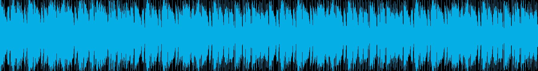 紅葉感ある和風バラード生演奏エレキギターの再生済みの波形