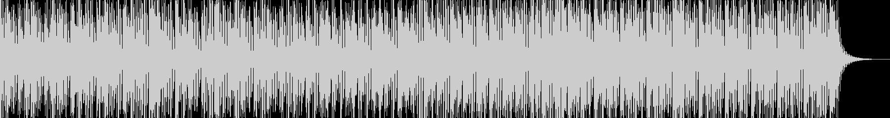 実用的な緊迫感のあるシンセBGM7の未再生の波形