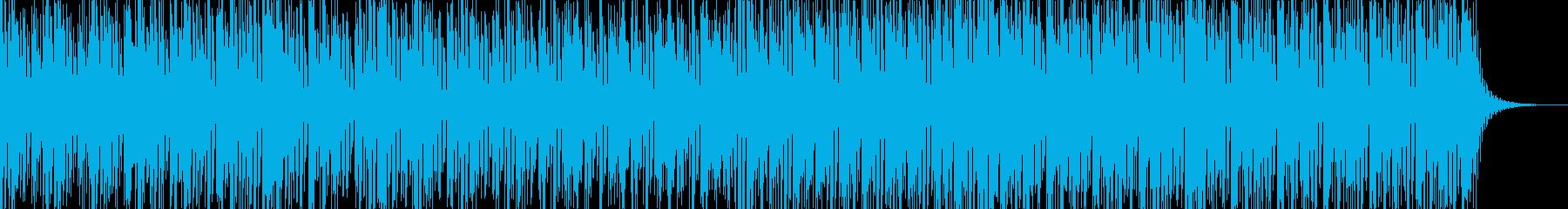 実用的な緊迫感のあるシンセBGM7の再生済みの波形