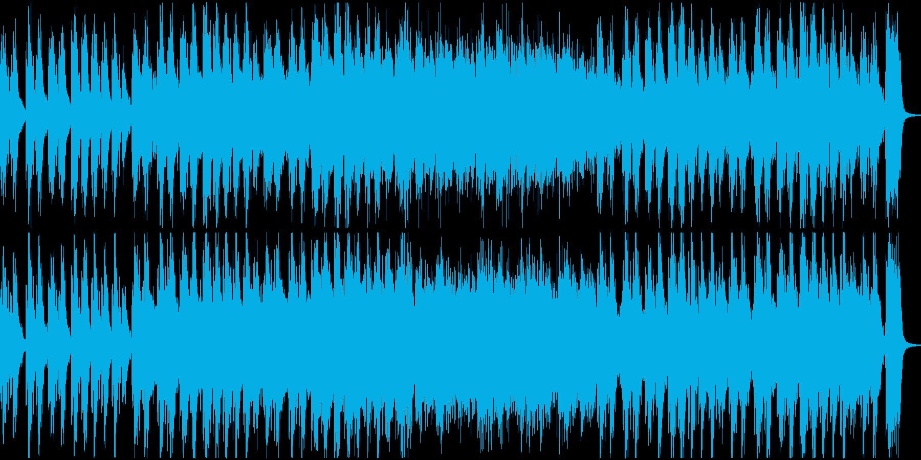 重厚感漂う美しい和のメロディーの再生済みの波形