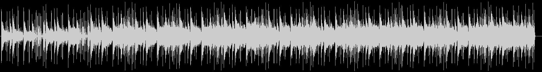 メロウなヒップホップの未再生の波形