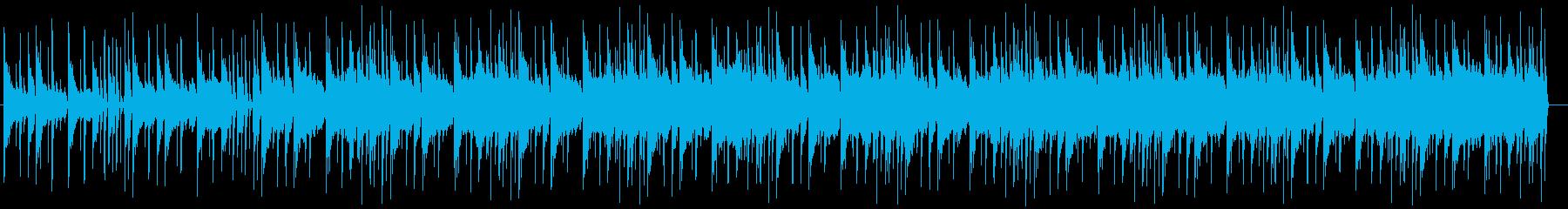 メロウなヒップホップの再生済みの波形