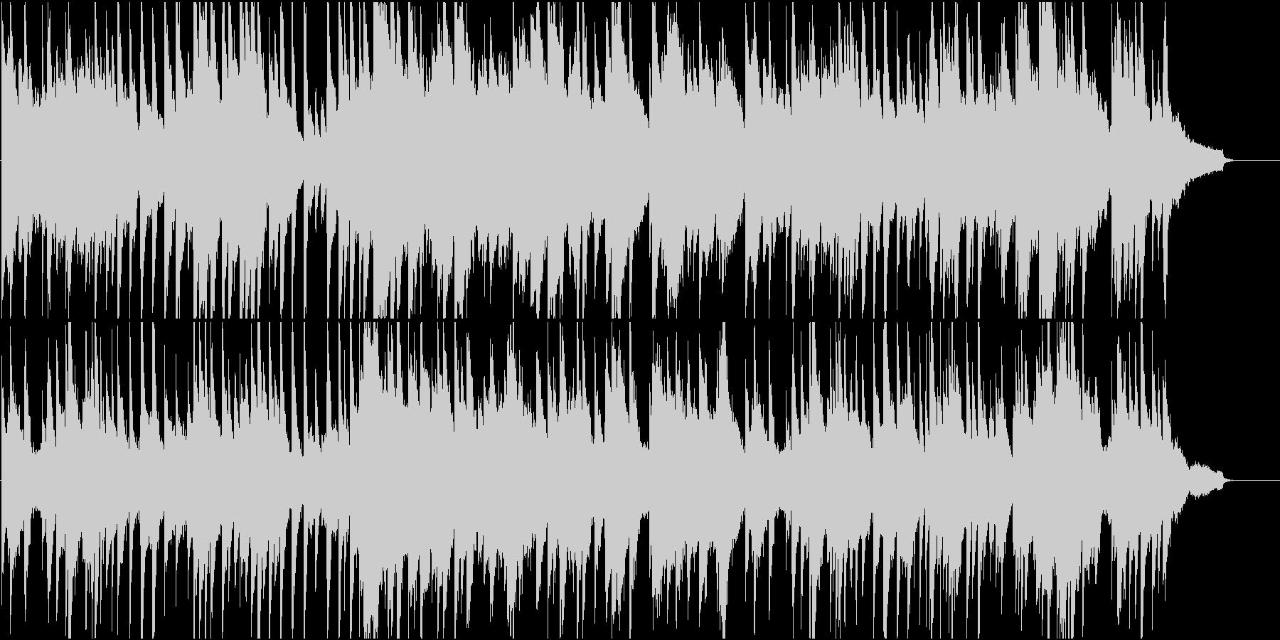 結婚式などに使える安らげるピアノ曲の未再生の波形