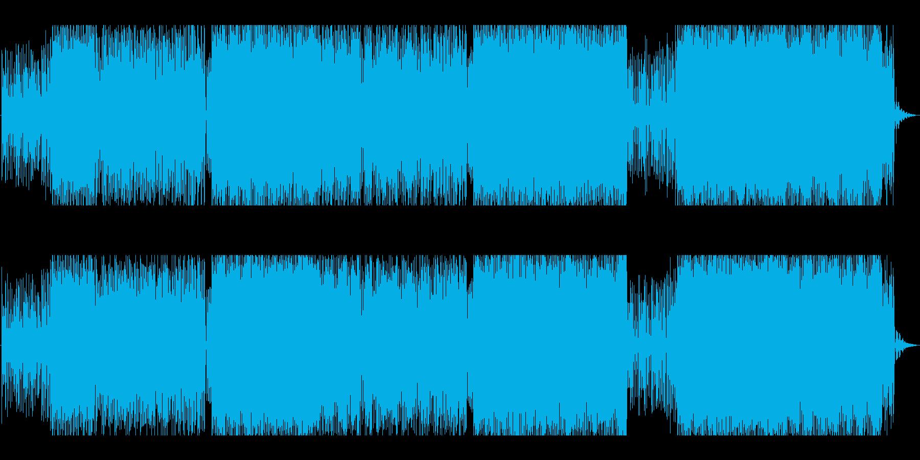 ぬいぐるみが恋をした♪カリンバ(木琴)楽の再生済みの波形