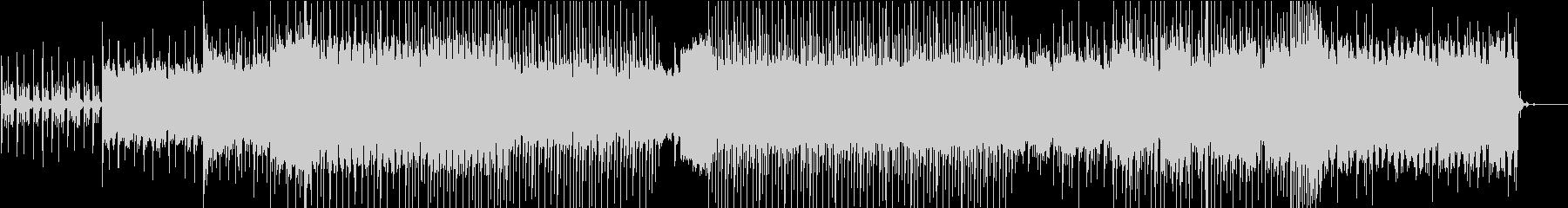 クールなEDMの未再生の波形