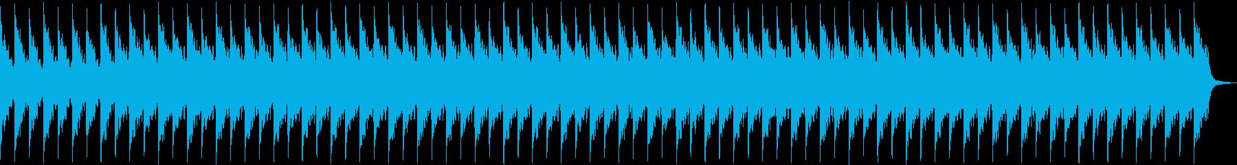 よく眠れそうなアンビエントの再生済みの波形