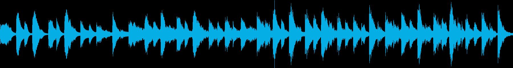 ハロウィンにぴったしな曲ですの再生済みの波形