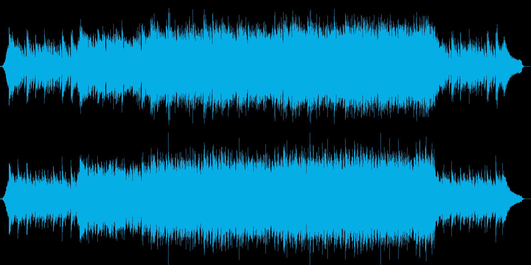 企業VPや映像72、オーケストラ、壮大bの再生済みの波形
