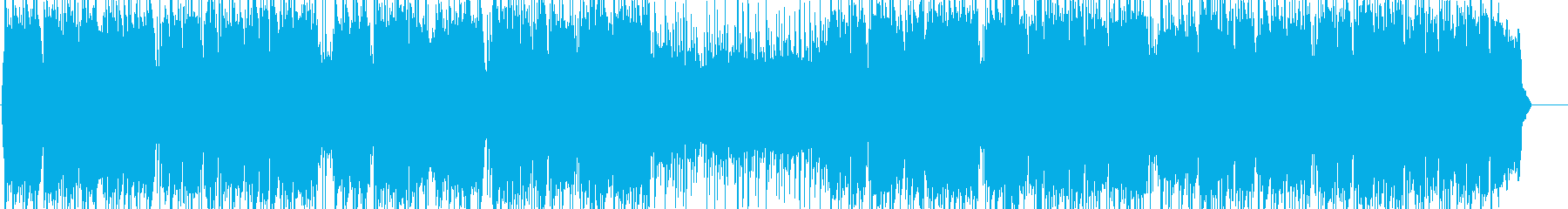 爽やかな笛のヒーリング音楽の再生済みの波形