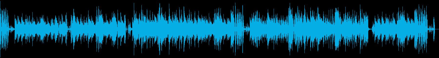 【メロなし】ほのぼの・日常・陽気BGMの再生済みの波形