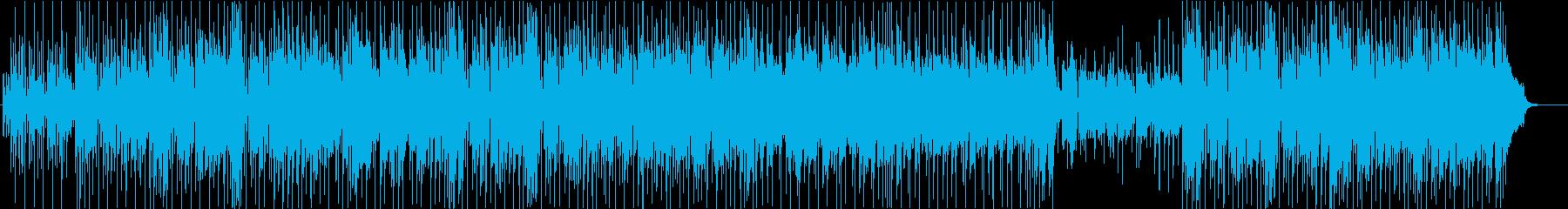 C調でナンパな80'sシティポップの再生済みの波形