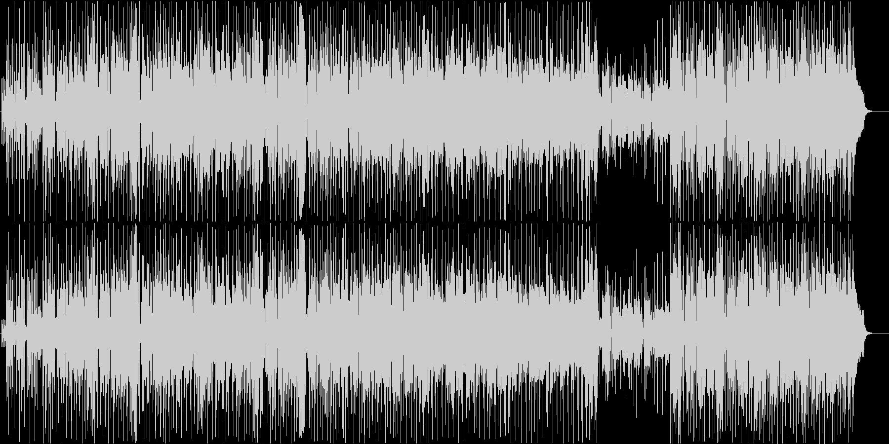 C調でナンパな80'sシティポップの未再生の波形