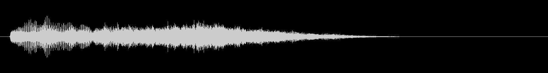 テーマ7:代替ミックスの未再生の波形