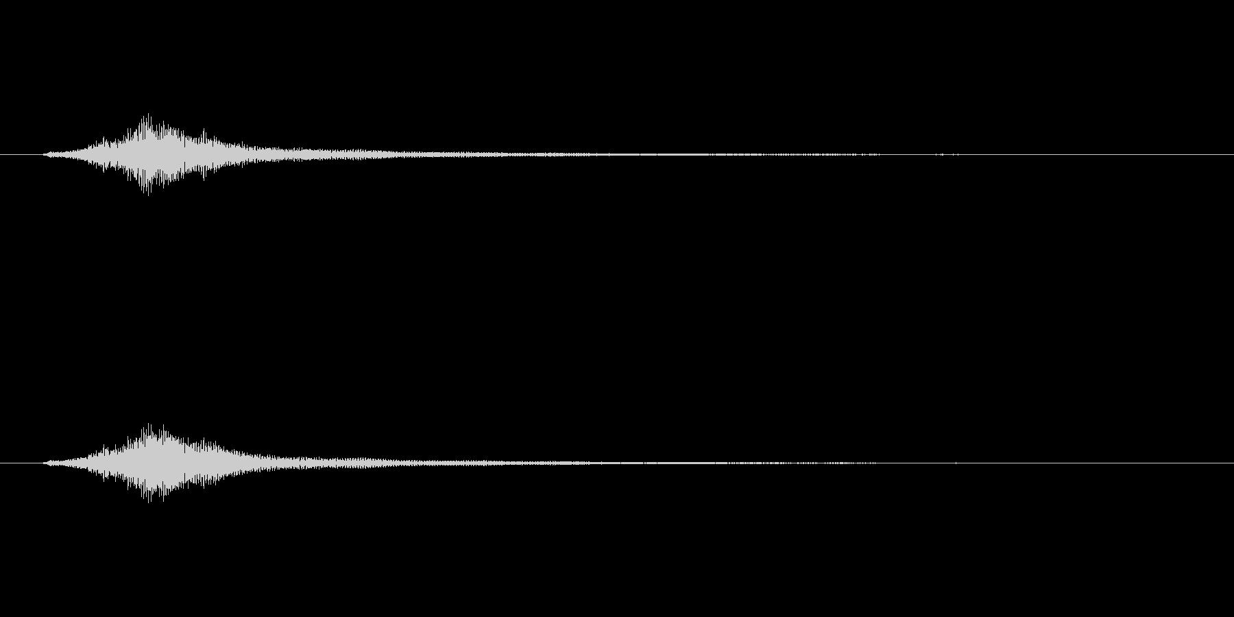 ハープグリッサンド上行1回~F7の未再生の波形