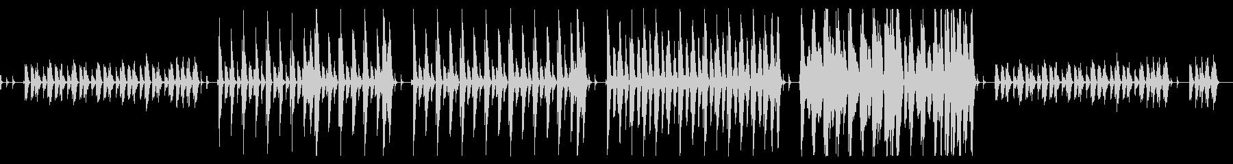 温かみのあるコンセプトムービー用BGMの未再生の波形