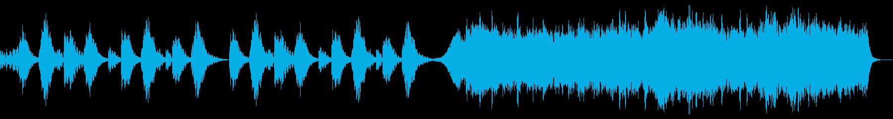 恋人を祝福する聖歌隊 ホワイトクリスマスの再生済みの波形