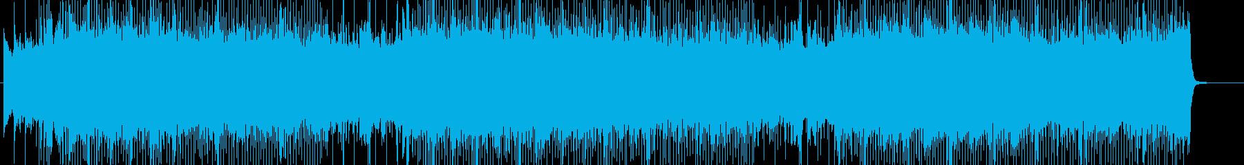 ダークロック、勢い、激しい BGM162の再生済みの波形