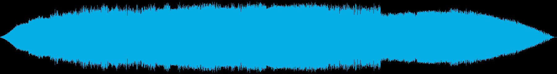 渦巻く下書きの人の再生済みの波形