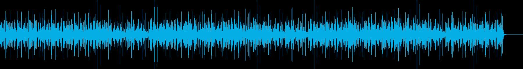 静かでゆったりしたジャズの再生済みの波形