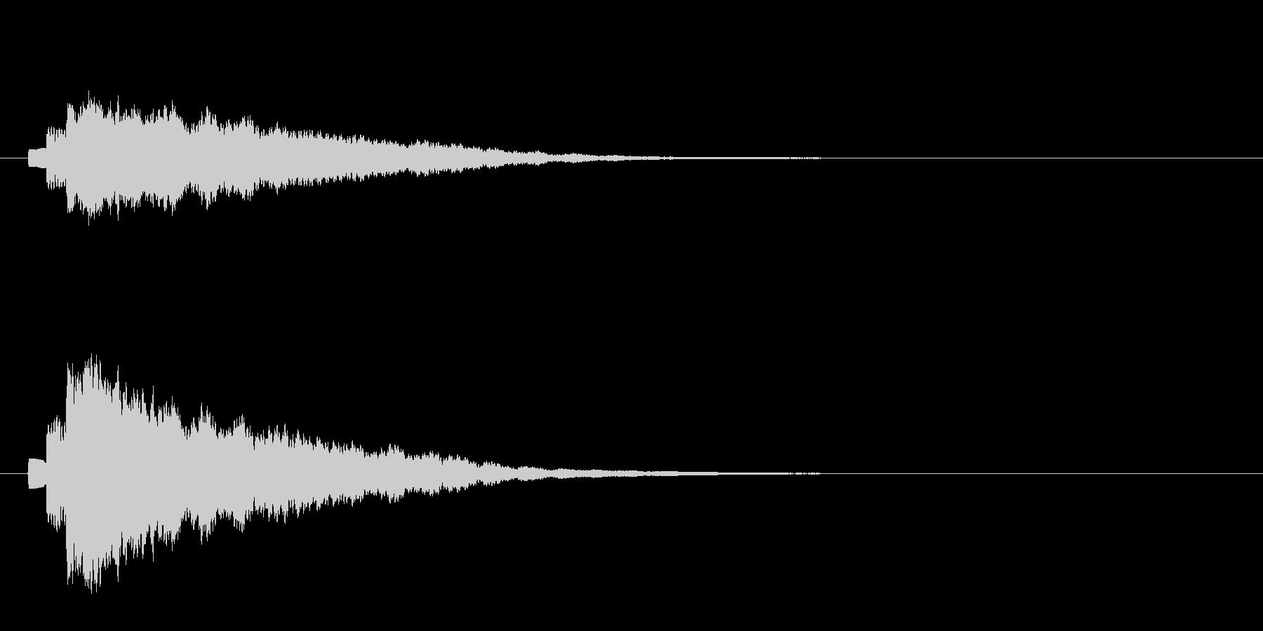 キラン(アルべジオ)2の未再生の波形