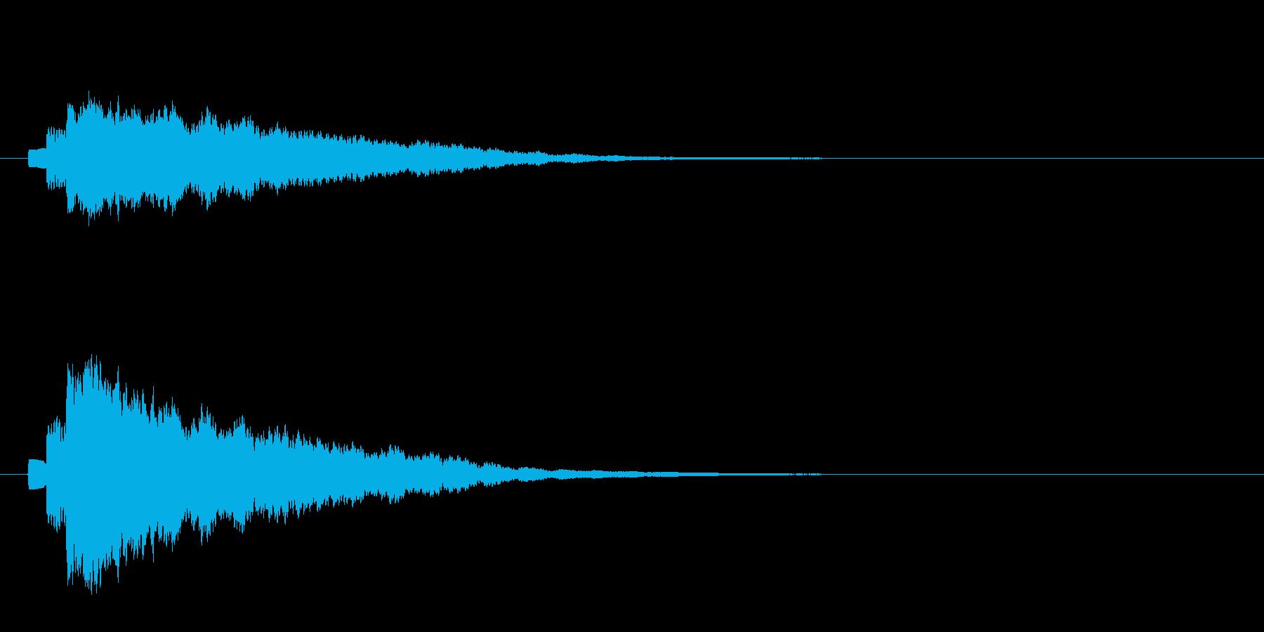 キラン(アルべジオ)2の再生済みの波形