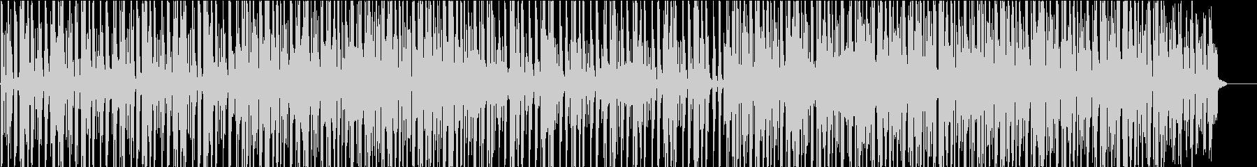 怪しげな雰囲気のファンクの未再生の波形