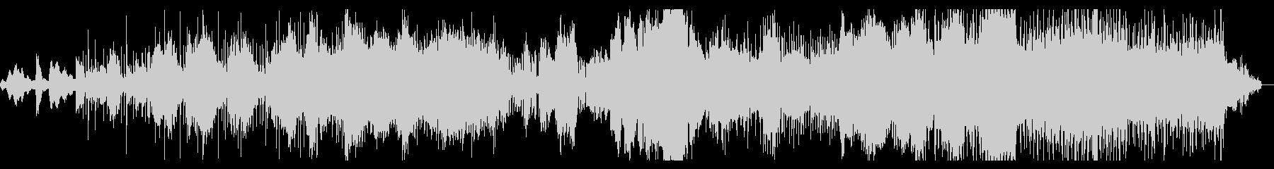 アトモスフィアとグリッジのシネマIDMの未再生の波形