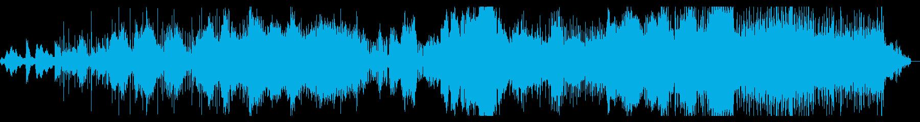 アトモスフィアとグリッジのシネマIDMの再生済みの波形